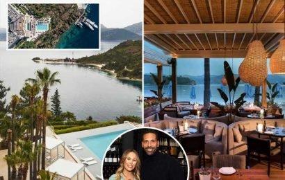 Inside Kate Wright and Rio Ferdinand's £4k a night luxury Turkish wedding venue – The Sun