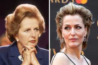 "Gillian Anderson Will Be Playing Margaret Thatcher In ""The Crown"""