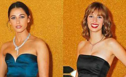 Naomi Scott's Necklace Steals The Spotlight at Bvlgari's Serpenti Seduttori Event