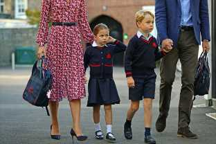 Princess Charlotte On Her First Day Of School Is The Cutest Thing You Need To See Today