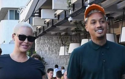Pregnant Amber Rose Steps Out with Boyfriend Alexander 'AE' Edwards as Due Date Approaches!