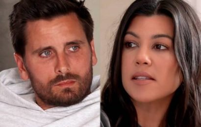 See Kourtney Kardashian & Scott Disick Come Together as Co-Parents After Mason & Penelope Act Out