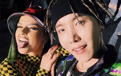 BTS' J-Hope & Becky G Dropped an Epic ''Chicken Noodle Soup'' Collab