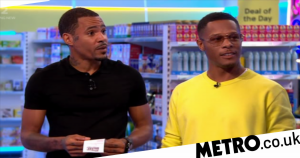 Harvey and Romeo from So Solid Crew popped up on Supermarket Sweep