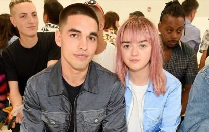 Maisie Williams & Boyfriend Reuben Selby Sit Front Row at Helmut Lang's NYFW Show