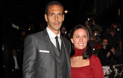 Who was Rio Ferdinand's first wife Rebecca Ellison, when did she die and how many children do they have?