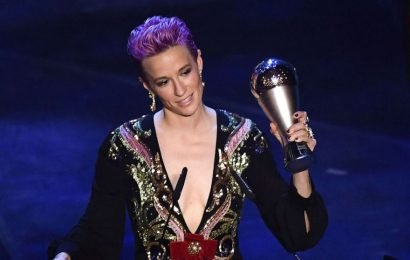 Megan Rapinoe gives powerful speech as she becomes Best FIFA Women's Player 2019