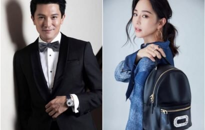 Taiwanese actor Roy Chiu admits to wooing actress Janine Chang but she remains tight-lipped