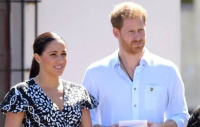 Meghan Markle, Prince Harry give powerful speech on gender-based violence in South Africa