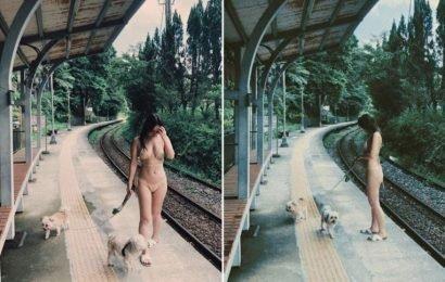 Kimberley Chen's manager defends bikini photo