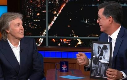 Paul McCartney reminisces about John Lennon, The Beatles on 'Late Show'