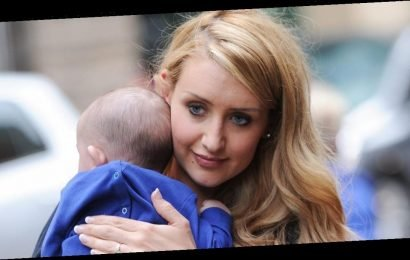 Catherine Tyldesley called 'a cow' by traffic warden after stopping car for son