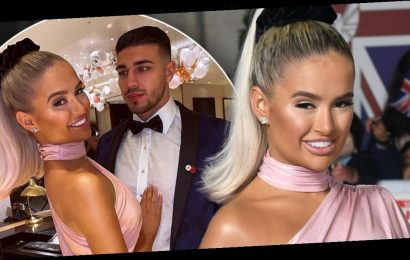 Love Island's Molly-Mae Hague ignores Tommy at Pride of Britain awards