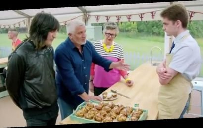 Bake Off contestant tells Paul Hollywood to 'shut up' and fans are in hysterics