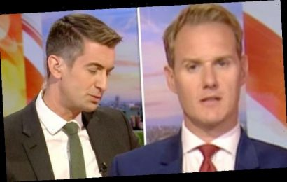 BBC News: Dan Walker apologises after co-host insists he went 'too far' with Tesco remark