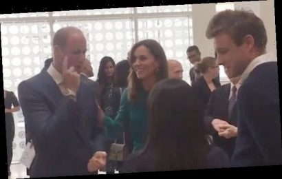 Kate Middleton showed rare display of affection towards Prince William