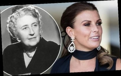 Coleen Rooney is called the 'reincarnation' of Agatha Christie
