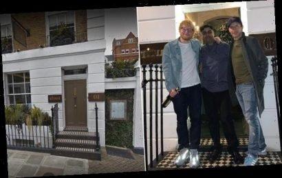 Ed Sheeran brings his own wine to swanky Chelsea restaurant