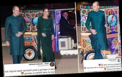 Wills steals the show in Islamabad as he dons traditional dress