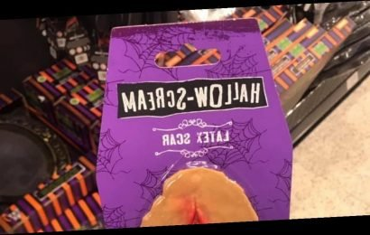 Home Bargains shoppers mistake fake Halloween scar for something very explicit