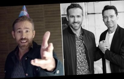 Ryan Reynolds Wishes Hugh Jackman a Happy Birthday With a Serenade Fit For a Frenemy