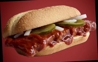 McDonald's is bringing back the McRib in the US