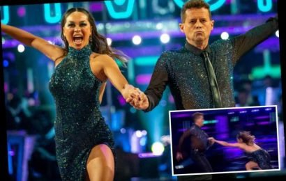 Strictly's Mike Bushell says Katya Jones has 'crashed her car and hit him in the face' before show fall