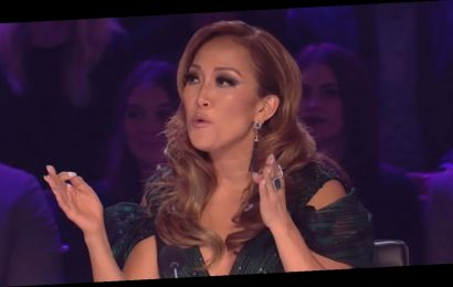 Carrie Ann Inaba falls off chair on Dancing with the Stars: Twitter reacts to shocking moment