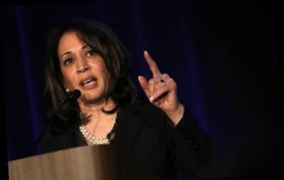 Kamala Harris Calls Upon Twitter CEO to 'Do Something About' Trump's 'Coup' Tweet