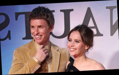 Eddie Redmayne & Felicity Jones Premiere Their Movie 'The Aeronauts' in London!