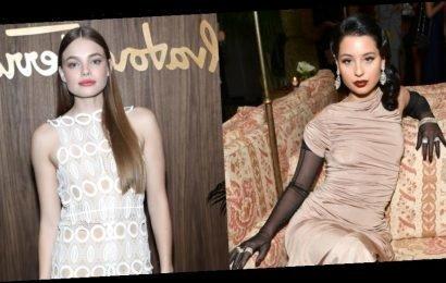 Euphoria's Alexa Demie & Looking for Alaska's Kristine Froseth Are Honored at Elle & Ferragamo Event