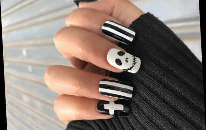 30 Spooky Captions For Halloween Nails That Are Scary Good