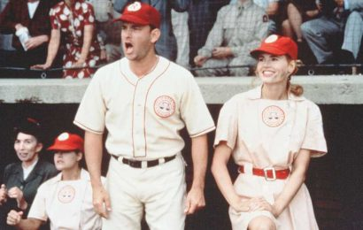 It's a 'League of Their Own' Reunion for Tom Hanks & Geena Davis