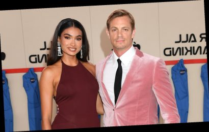 Joel Kinnaman & Girlfriend Kelly Gale Make Red Carpet Debut at 'For All Mankind' Premiere!