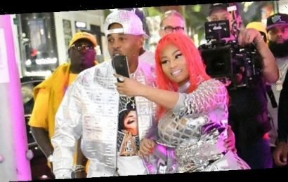 Nicki Minaj & Kenneth Petty Make Rare Appearance Together As He Supports Her During Fendi Party