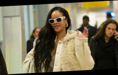 Rihanna Arrives in New York City for Book Launch Party!