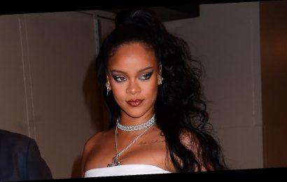 Rihanna Goes Glam for Miyake Mugler Porcelain Ball in NYC