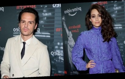 Emmy Rossum & Andrew Scott Join 'Modern Love' Cast at Museum Event in NYC!