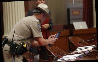 The Red Liquid An Anti-Vax Protester Threw At California Legislators Was Human Blood, Tests Confirm