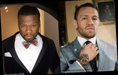 Conor McGregor Challenges 50 Cent to a Fight for Making Constant Memes About Him