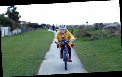Halfords Christmas advert blunder as cycling BANNED where bike sequence filmed