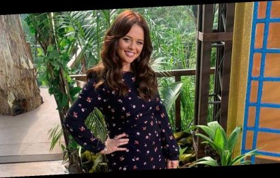 I'm A Celeb's Emily Atack delights fans in near identical dress