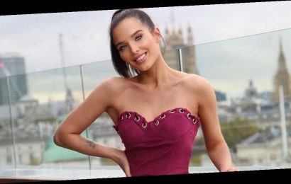Helen Flanagan wows in skimpy minidress after flaunting body transformation