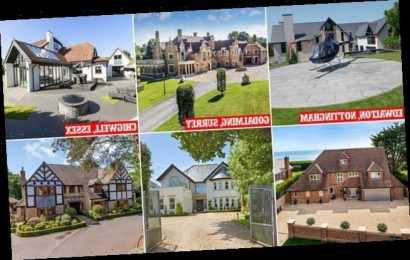 Mansions dominate most viewed UK homes for sale according to Zoopla