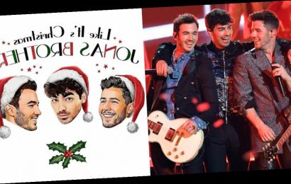 The Holidays Just Got Even Cooler Because the Jonas Brothers Are Releasing a Christmas Song