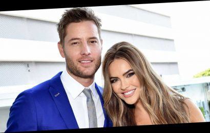 Justin Hartley, Chrishell Hartley Hosted Viewing Party 1 Week Before Split