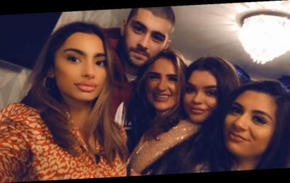 Zayn Malik finally returns home to reunite with his pregnant sister, 17 after missing her wedding – The Sun