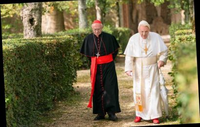 Is the Netflix film The Two Popes based on a true story and when is the film out?