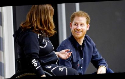 Prince Harry Has Adorable Response to Student Calling Him 'Handsome'