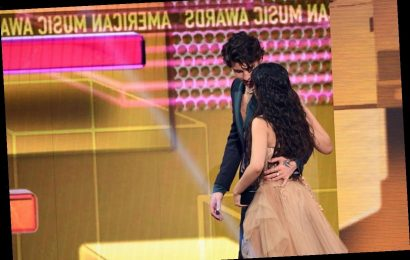 The Tweets About Shawn Mendes & Camila Cabello's Almost-Kiss At The AMAs Are So Funny